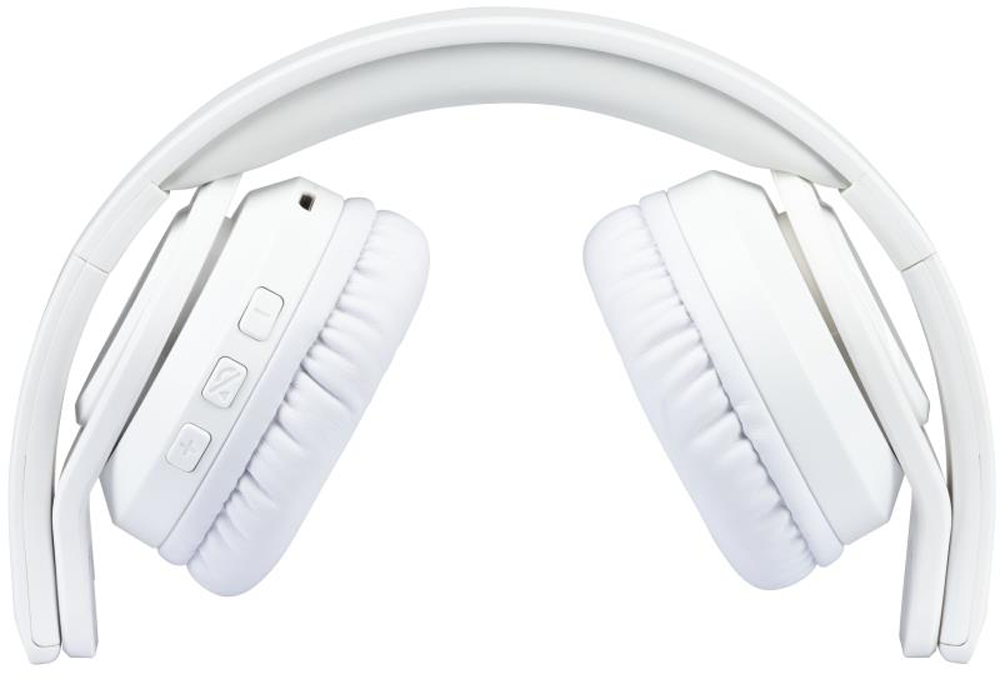 Ovegna H8: Wireless Bluetooth Headset, Foldable, battery with long battery life, Hi-Fi Audio, Compatible with iPhone, iPad, Mac, PC (White) Hover