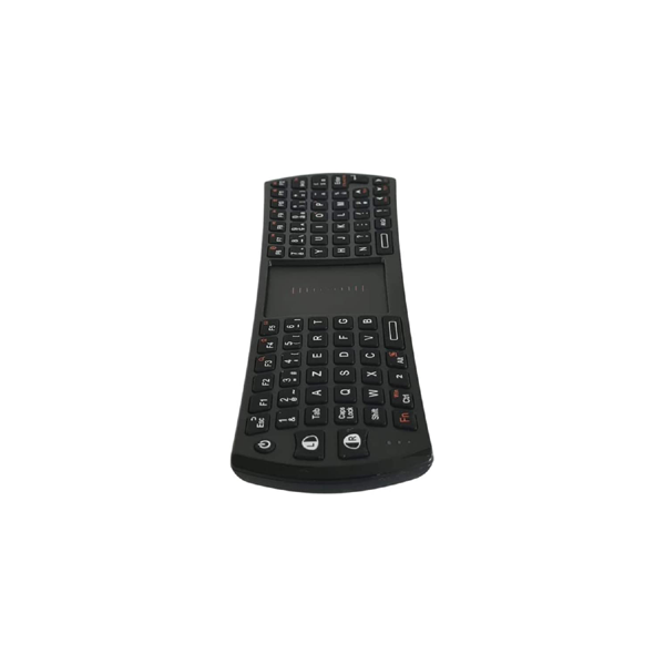 Rii / Ovegna K24T: 2.4Ghz Mini Keyboard and Mouse, Wireless, Combination Touchpad, Rechargeable Li-ION Battery-Black, for Windows, Linux, Android