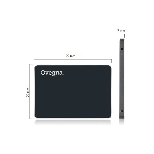 Ovegna SD1: High Performance 2.5 Inch Internal Flash SSD, 1 TB, 3D NAND Flash, SATA III 6 Gb / s, Up to 540 MB / s, Data Storage and PC Workloads (256 GB) Hover